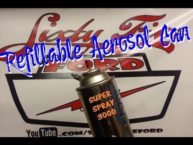 Make a Refillable Aerosol Spray Paint Can