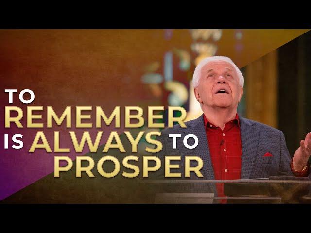 To Remember is Always to Prosper (April 19, 2020)   Jesse Duplantis