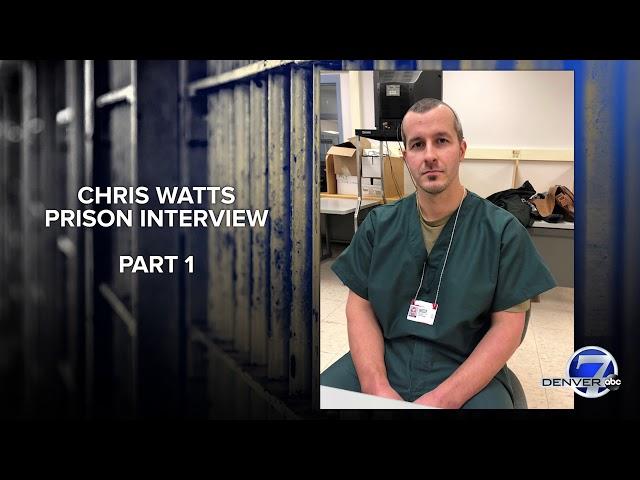 Audio: Chris Watts prison interview, part 1