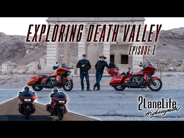 Riding the 2Lanes Through Death Valley National Park! | Artist's Palette | Zabriskie Point | Part 1