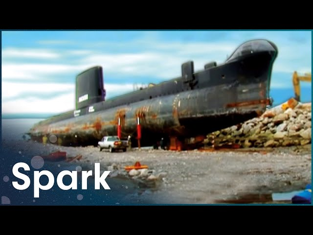 Attempting To Move A 1,400-Ton British-Built Submarine | Huge Moves | Spark