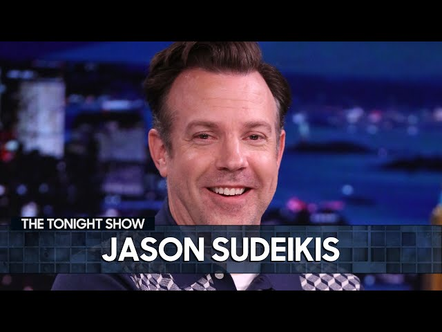 Jason Sudeikis Made Jimmy Cry While Watching Ted Lasso | The Tonight Show