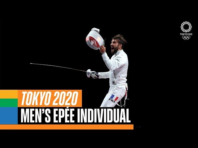 Fencing Mens Epée Individual Gold Medal | Tokyo Replays
