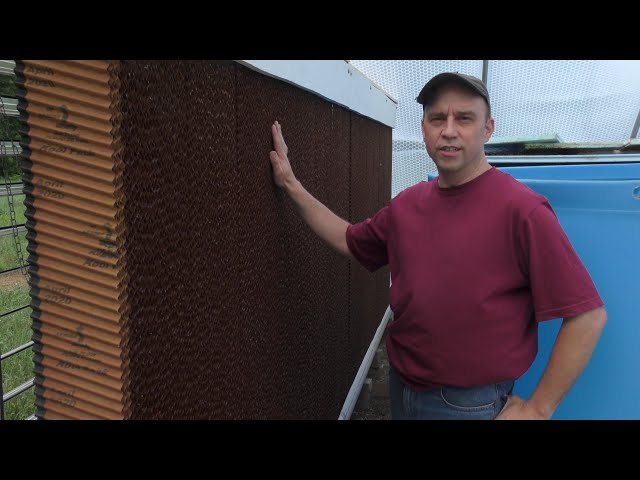 Building My Own Evaporative Cooling Wall (AKA Swamp Cooler)