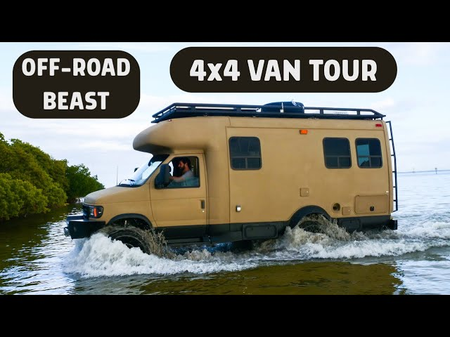 He Turned a Rotting RV into the Ultimate 4x4 ADVENTURE Rig!