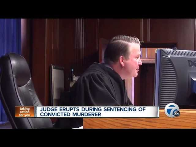 """Angry Judge tells convicted murderer """"I hope you die in prison"""""""
