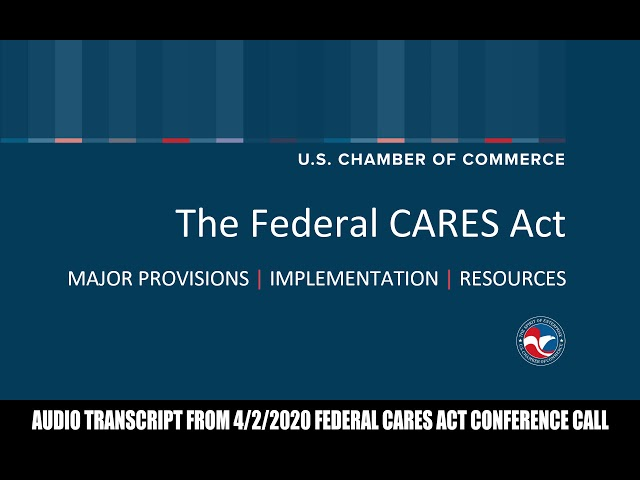 Federal CARES Act Explained