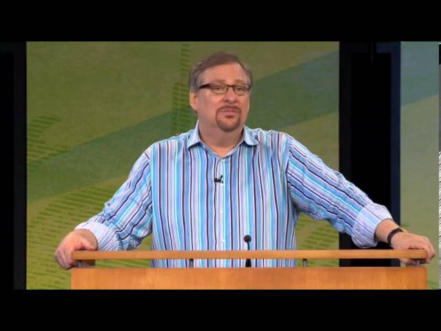 Hearing the Voice of God Pt.1   Pastor Rick's Daily Hope