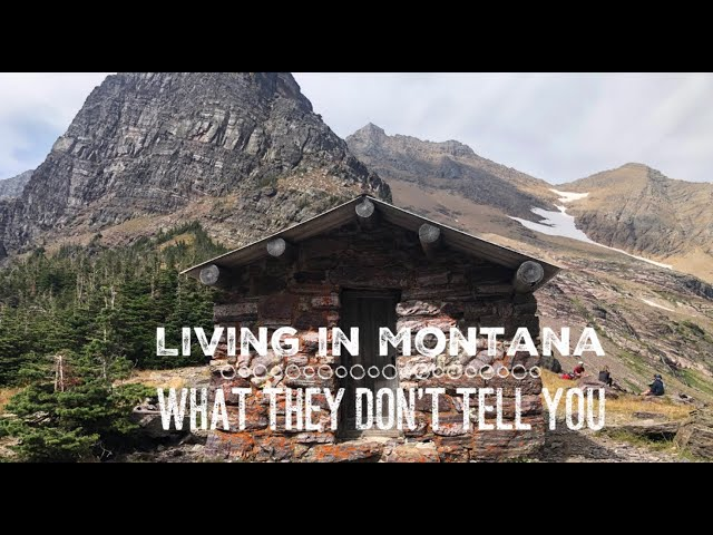 Living in Montana -Things They Don't Tell You
