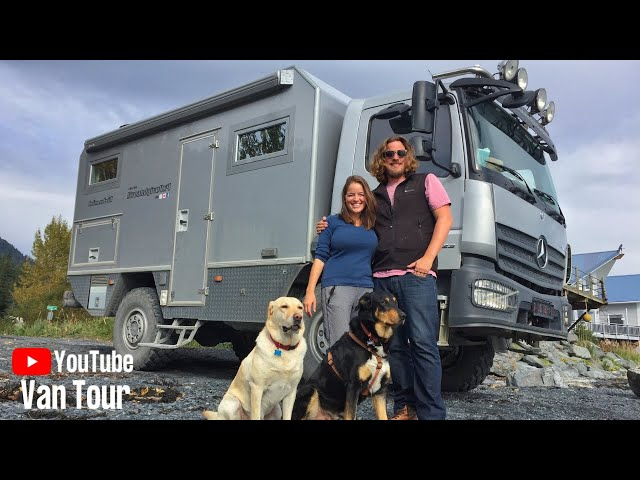 Couple Travels the World in an Extreme 4x4 Mercedes • VAN LIFE TOUR