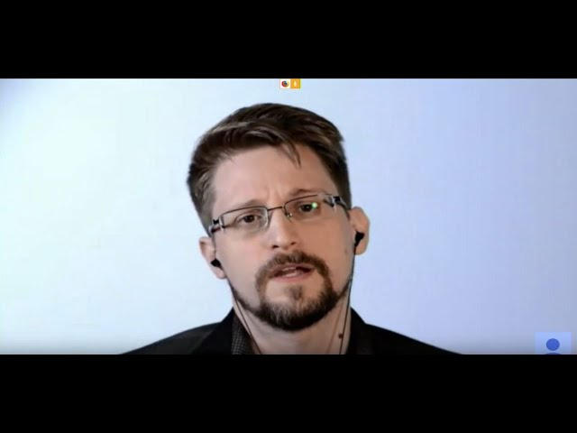 Open Dialogue: Edward Snowden, Live from Russia   Dalhousie University