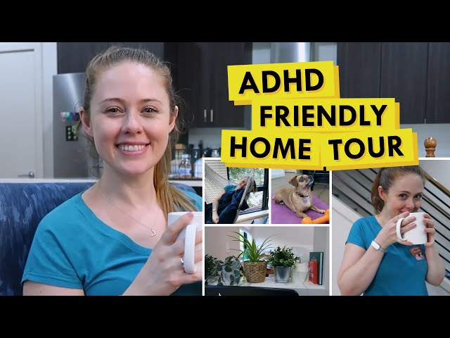 ADHD Friendly House Hacks - Feat. MY HOUSE! (Executive Function Friendly Tips)