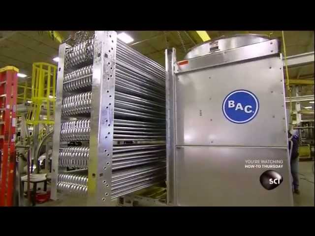 How It's Made: Evaporative Cooling Towers