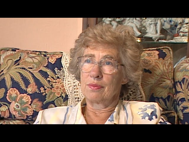 Jewish Survivor Eva Schloss Testimony