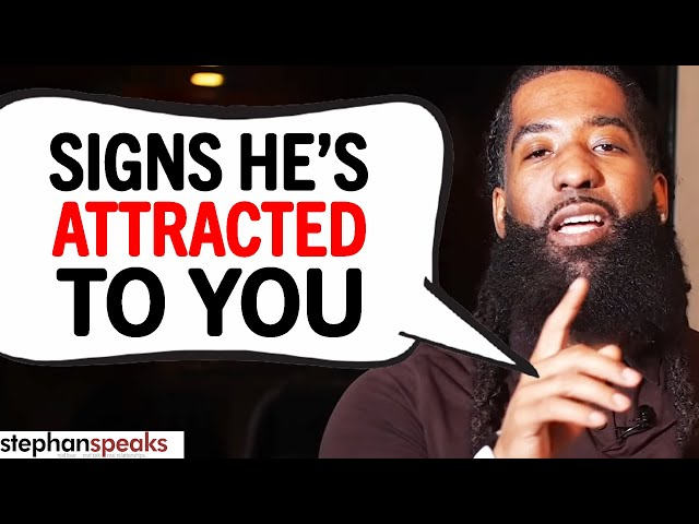 The 7 BIG SIGNS He's Emotionally ATTRACTED To You!