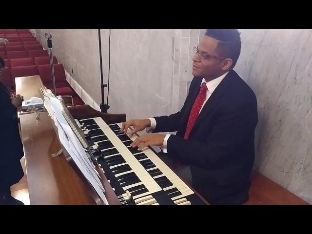 Organ Playing at Church