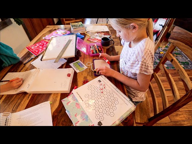 Our Laid-Back Homestead Homeschool Routine