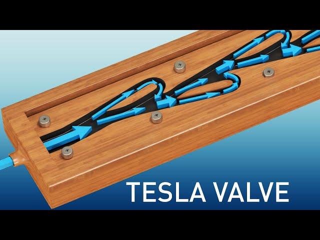 Tesla Valve   The complete physics