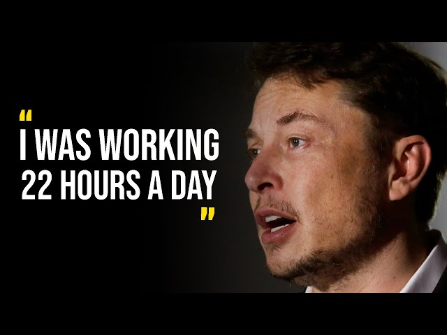 IT WILL GIVE YOU GOOSEBUMPS - Elon musk Motivational video