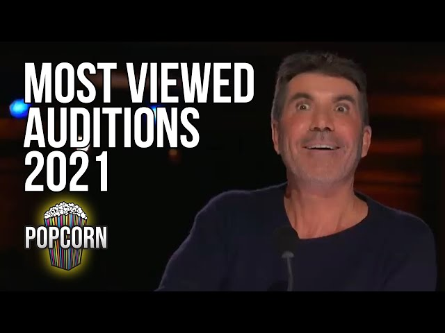 10 MOST VIEWED AMERICAS GOT TALENT AUDITIONS 2021
