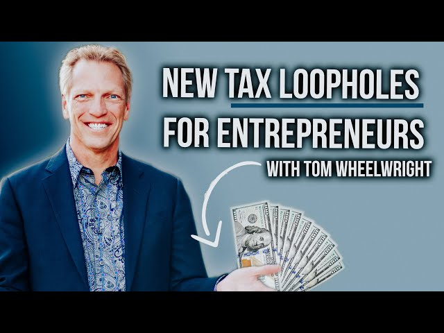 Tax Loopholes The Rich Use To Pay Zero Taxes w/ Tom Wheelwright