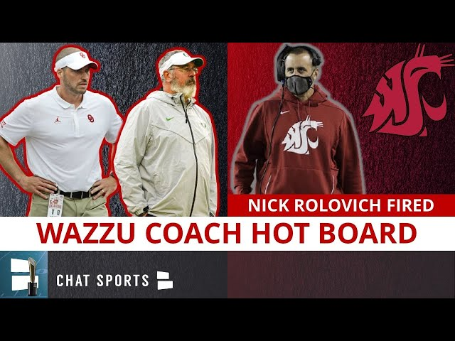 Nick Rolovich Replacements: Top 10 Washington State Football Coach Candidates After Rolovich Fired
