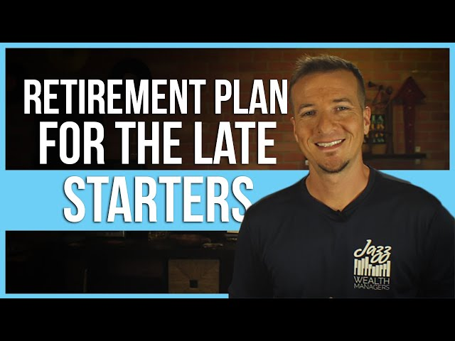 Sample retirement plan for 50 year old getting late start.