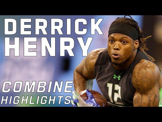 Derrick Henry's BEAST MODE Workout! | 2016 NFL Combine Highlights
