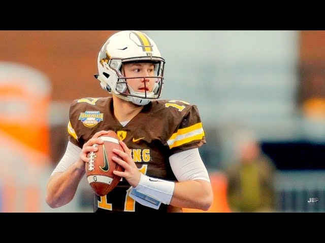 Strongest Arm in College Football || Wyoming QB Josh Allen Career Highlights ᴴᴰ