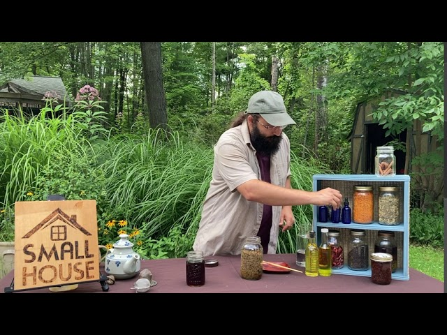 Making Herbal Teas, Tinctures, and Salves with Bevin Cohen