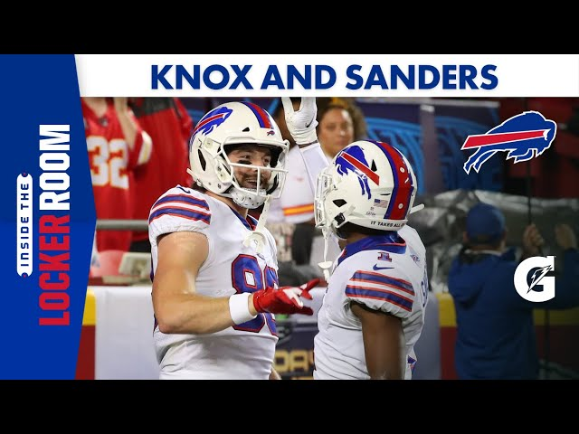 Dawson Knox and Emmanuel Sanders on What Worked Well Against the Kansas City Chiefs   Buffalo Bills
