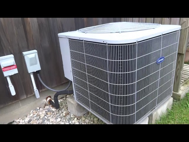 Carrier AC system not running or cooling