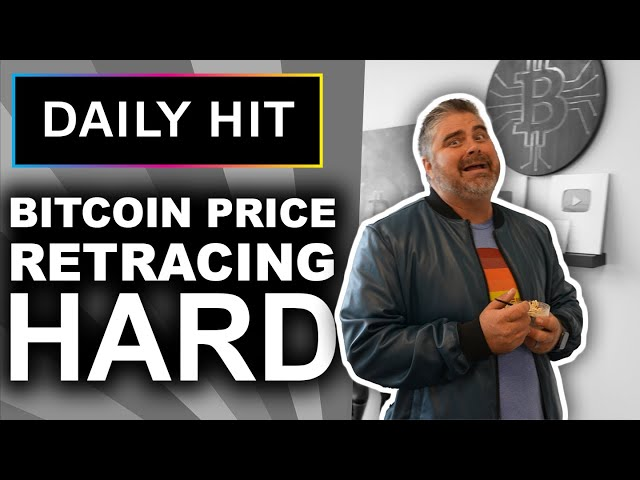 Bitcoin Price Retracing Hard (Time To Panic???) | Daily Hit 169