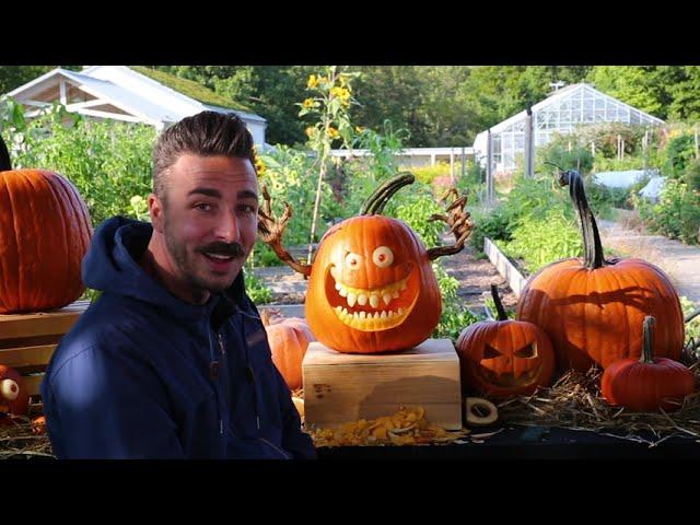 Pumpkin Carving with Adam Bierton