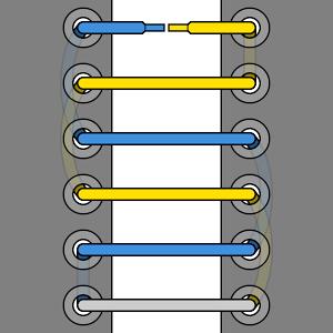 Straight Bar Lacing Tutorial