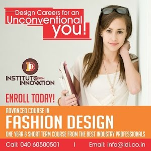 Instituto Design Innovation Idi Fashion Designing Student Hyderabad Youtube