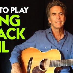 How To Play Long Black Veil Long Black Veil Guitar Chords Youtube