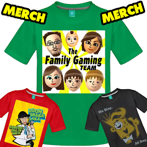 FGTeeV Rocks T Shirt Youtube Family Gaming Gamer Dan TDM Video Vlog Plays Funny