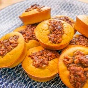 Muffins de abóbora com crumble de noz - YouTube