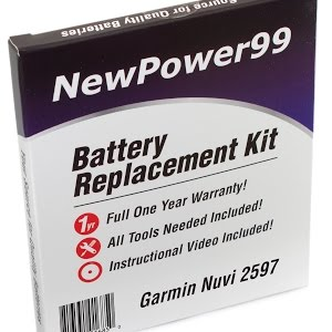 How to Replace Your Garmin Nuvi 2597 Battery - YouTube