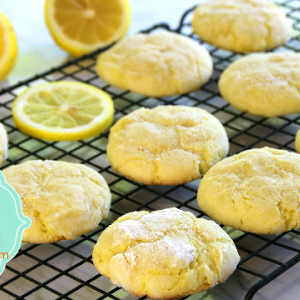 Ricetta Lemon Cookies.Soft Lemon Cookies Melt In Your Mouth Youtube