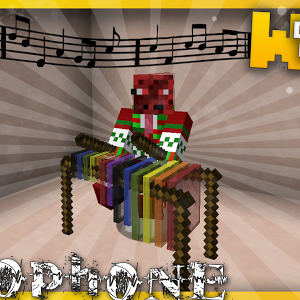Minecraft Playable Xylophones With Only One Command Block Youtube