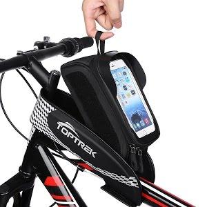 Top 10 Bike Frame Bags 2018 Waterproof Bike Bicycle Phone Mount Holder With Water Resistant Youtube