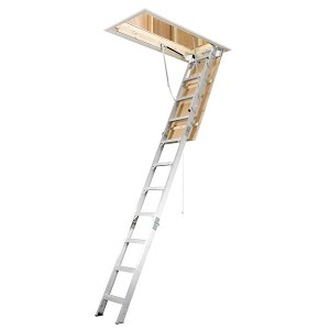 How To Install An Attic Ladder Youtube