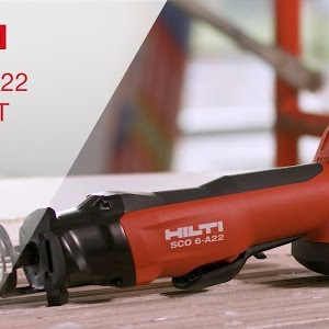 Overview Of Hilti S Sco 6 A22 Cordless 22v Cut Out Tool Youtube