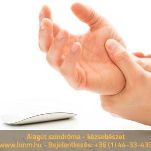 Alagút szindróma torna a túlerőltetés okozta alagút szindroma esetén
