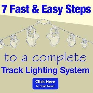 mistake when installing track lighting