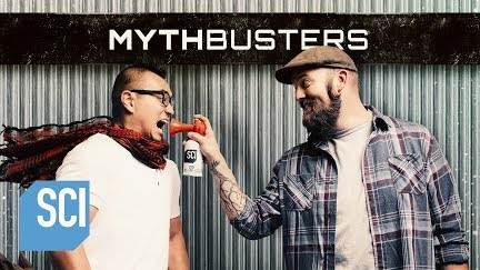 Mythbusters Folding Paper Seven Plus Times Youtube