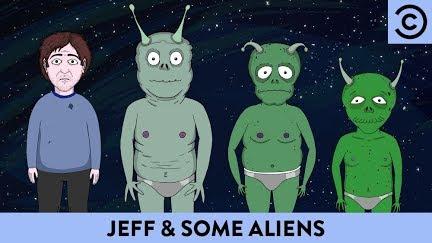 Aliens to masturbate over