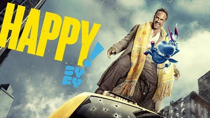 HAPPY! Official Trailer (HD) Christopher Meloni, Patton